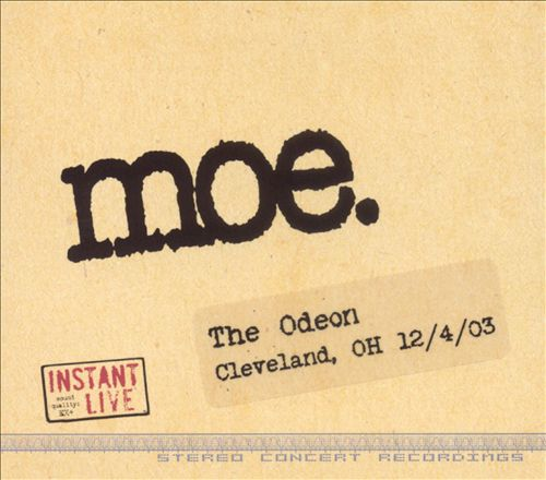 Instant Live: The Odeon - Cleveland, OH, 12/04/03