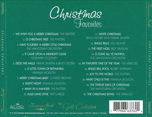 Christmas Favorites [St. Clair 2002]