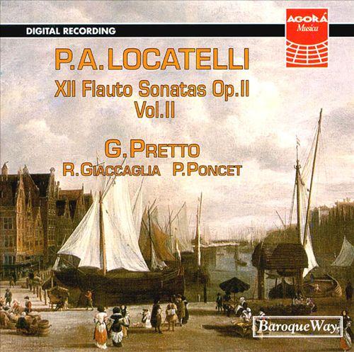 Locatelli: Flute Sonatas Op. 2 Vol. 2