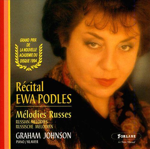 Récital Ewa Podles: Mélodies Russes