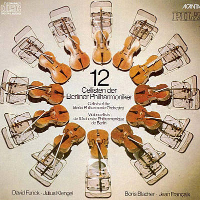 12 Cellisten der Berliner Philharmoniker