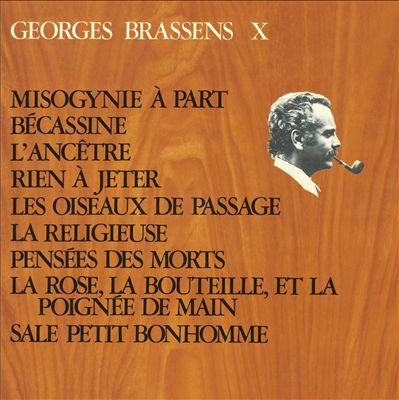 Georges Brassens X (Nø. 12). Misogynie a Part