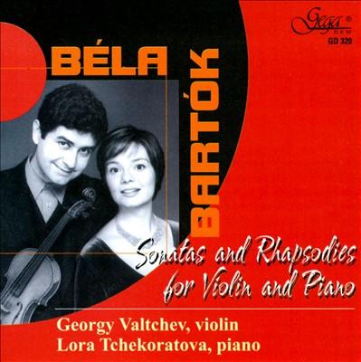 Bartók: Sonatas and Rhapsodies for Violin and Piano