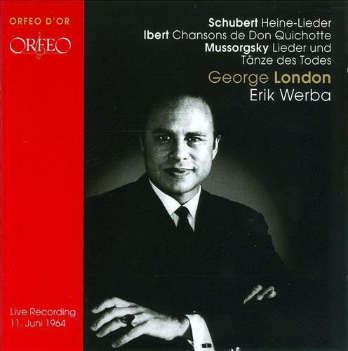 George London sings Schubert, Ibert & Mussorgsky