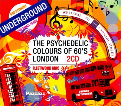 The Psychedelic Colours of 60's London