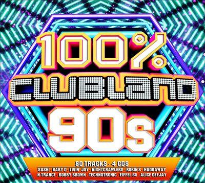 100% Clubland '90s