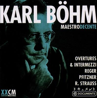 Böhm: Maestro Decente, Disc 3