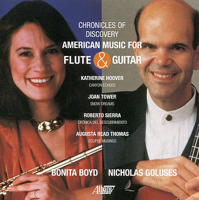 Chronicles of Discover: American Music for Flute and Guitar