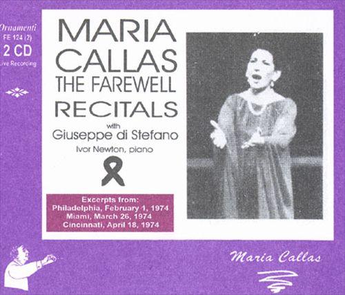 The Farewell Recitals with Giuseppe di Stefano