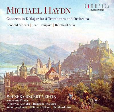 Michael Haydn: Concerto in D major for 2 Trombones and Orchestra