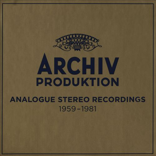 Archiv Produktion: Analogue Recordings, 1959-1981
