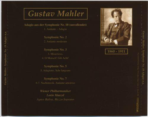Mahler: Symphonie No. 10 Adagio u.a.