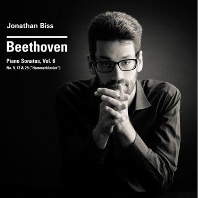 """Beethoven: Piano Sonatas, Vol. 6 - Nos. 9, 13 & 39 (""""Hammerklavier"""")"""