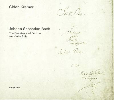 J.S. Bach: The Sonatas and Partitas for Violin Solo