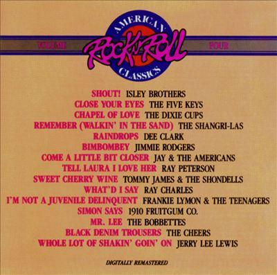American Rock 'N' Roll Classics, Vol. 4