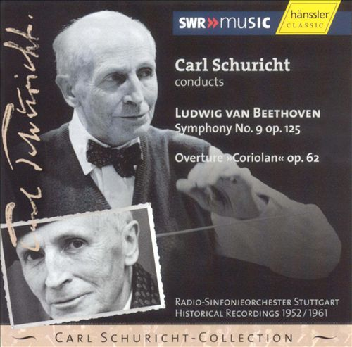 Beethoven: Symphony No. 9 op. 125; Overture