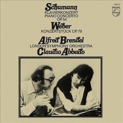 Schumann: Klavierkonzert Op. 54; Weber: Konzertstück, Op. 79