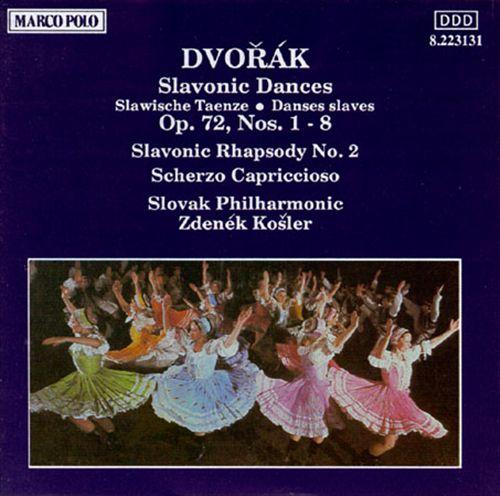 Dvorák: Slavonic Dances; Slavonic Rhapsody; Scherzo Capriccioso