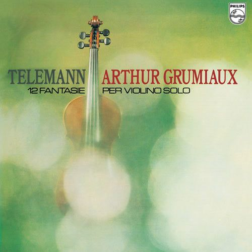 Telemann: Twelve Fantasias for Violin Solo