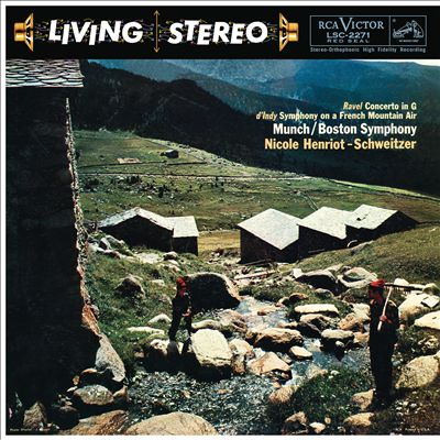 Ravel: Concerto in G; d'Indy: Symphony on a French Mountain Air