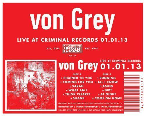 Live at Criminal Records 01.01.13