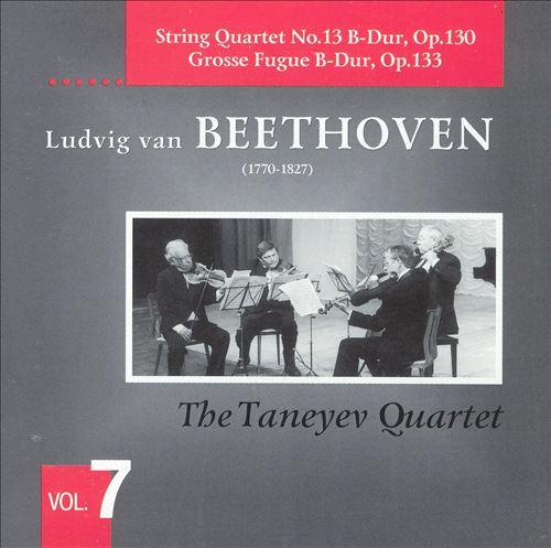 Beethoven: String Quartet No. 13; Grosse Fugue