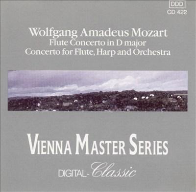 Mozart: Flute Concerto in D; Concerto for Flute, Harp & Orchestra