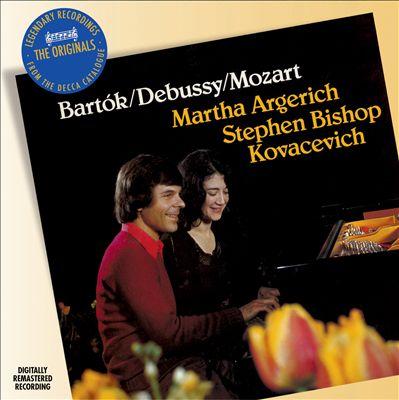 Bartók, Debussy, Mozart