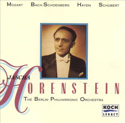 Jascha Horenstein and the Berlin Philharmonic Orchestra