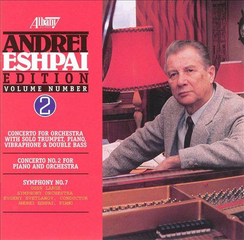 Eshpay: Symphony; Piano Concerto