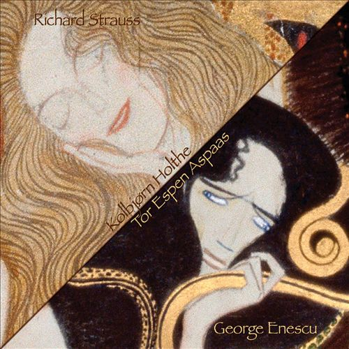 Violin Sonatas by Richard Strauss & George Enescu