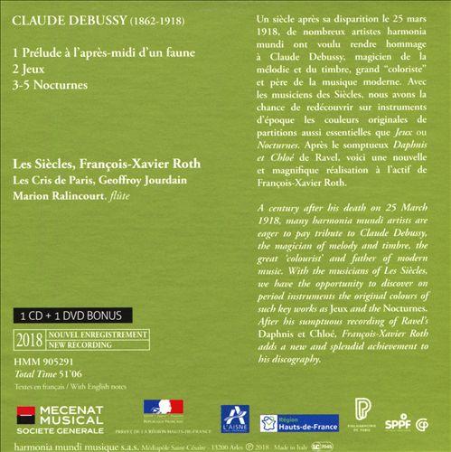 Debussy: Nocturnes; Jeux; Prélude à l'après-midi d'un faune