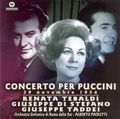 Concerto per Puccini, 29 Novembre 1954