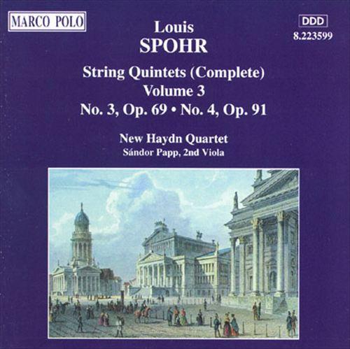 Spohr: String Quintets, Vol.3