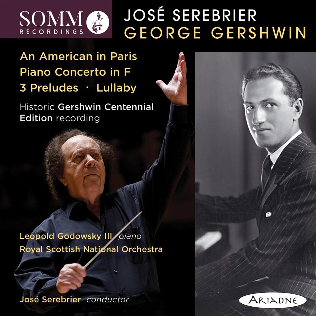 George Gershwin: An American in Paris; Piano Concerto in F; 3 Preludes; Lullaby