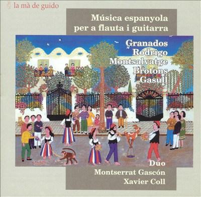 Música espanyola per a flauta i guitarra