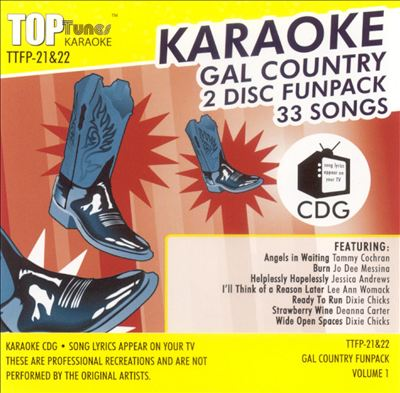 Top Tunes: Gal Country, Vol. 1