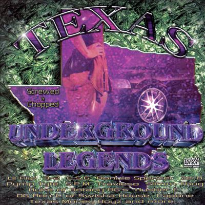 Texas Underground Legends, Vol. 2 [Screwed and Cho