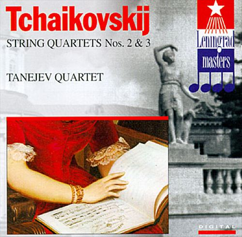Tchaikovsky: String Quartet No3, Op30; String Quartet No2, Op22
