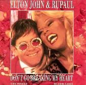 Don't Go Breakin' My Heart [US CD Single]