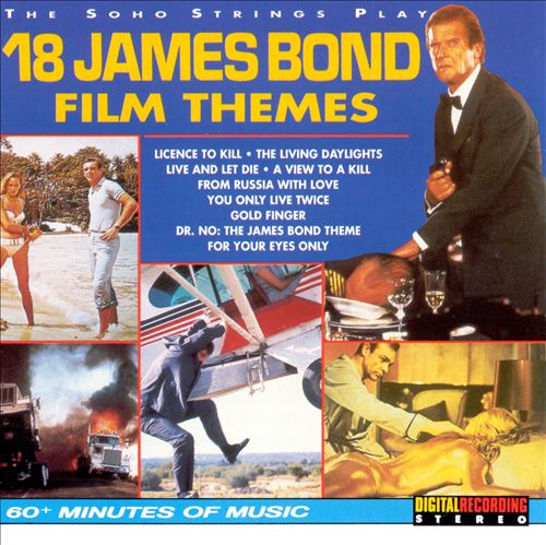 The Eighteen James Bond Film Themes