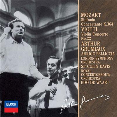 Mozart: Sinfonia Concertante K.364; Viotti: Violin Concerto No. 22