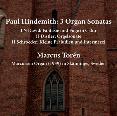 Hindemith: 3 Organ Sonatas