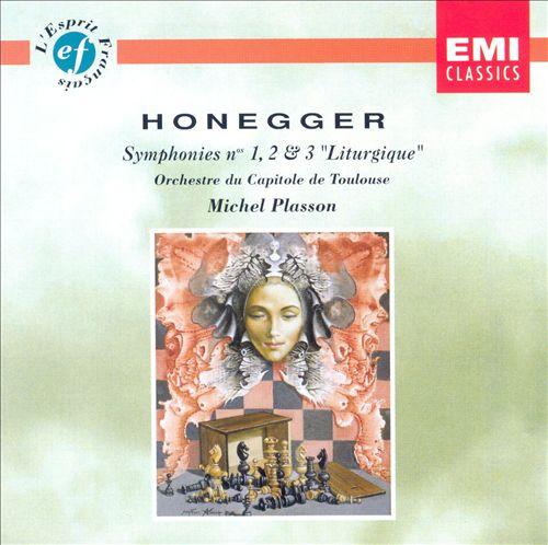 Honegger: Symphonies 1, 2, 3