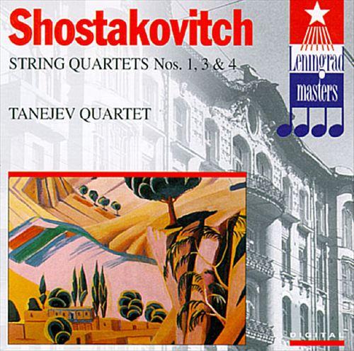 Shostakovich: String Quartets Nos. 1, 3 and 4