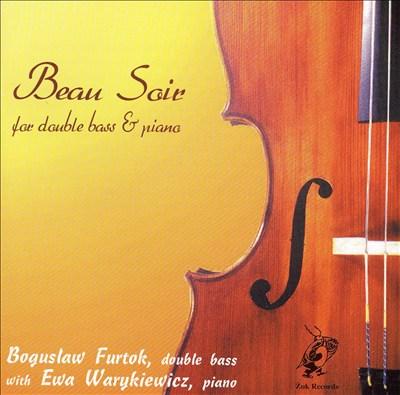 Beau Soir for Double Bass & Piano
