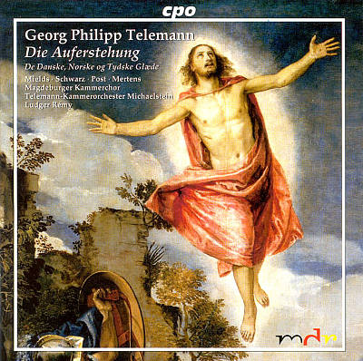Telemann: Die Auferstehung, Danish Cantata