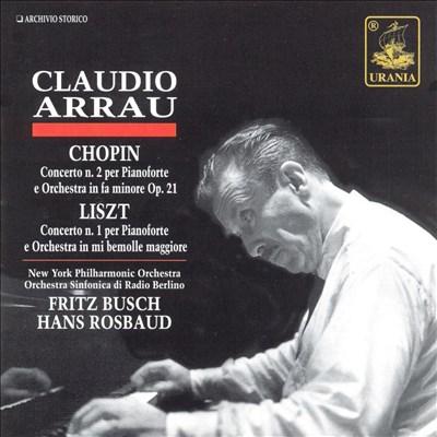Chopin/Liszt: Piano Concertos