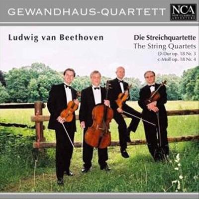 Beethoven: String Quartets Nos. 3 & 4 Op.18