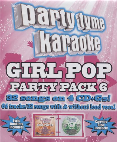 Party Tyme Karaoke: Girl Pop Party Pack, Vol. 6